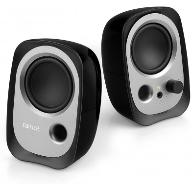 Edifier R12 Black, 2x2W RMS, 3,5 AUX, USB power
