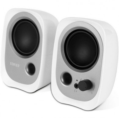 Edifier R12 White, 2x2W RMS, 3,5 AUX, USB power