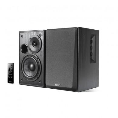 "Edifier R1580MB Black, 2.0/ 42W (2x21W) RMS, Bluetooth v4.0, AUX, RCA, remote control, wooden, (4""+1/2"")"