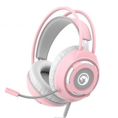 "MARVO ""HG8936"" Marvo Headset HG8936 Wired Gaming, 3.5 mm, USB (Backlight), Pink"