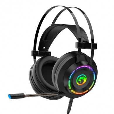 "MARVO ""HG9062"" Marvo Headset HG9062 Wired Gaming, USB 7.1 , Colors Rainbow"