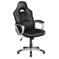Trust Gaming Chair GXT 705 Ryon, Class 4 gas lift, Armrest with comfortable cushions, Strong wooden frame,Tilting seat with locking possibility, up to 150kg, Black