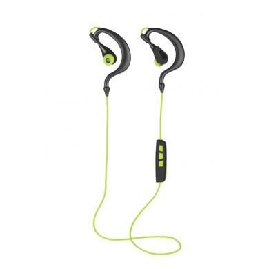 Casti Trust  Senfus Bluetooth Wireless Earphones / Black/Lime