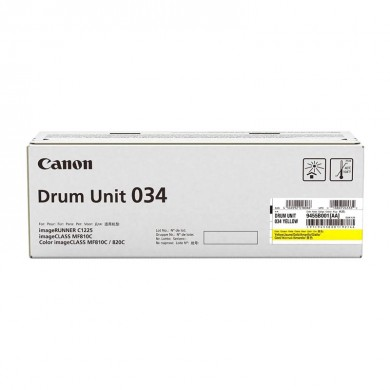 Drum Unit Canon C-EXV034 YELLOW, xx 000 pages A4 at 5% for Canon iR