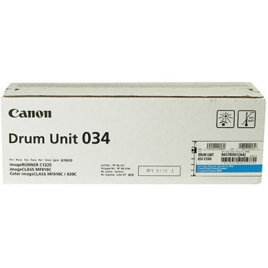 Drum Unit Canon C-EXV034 CYAN, xx 000 pages A4 at 5% for Canon iR