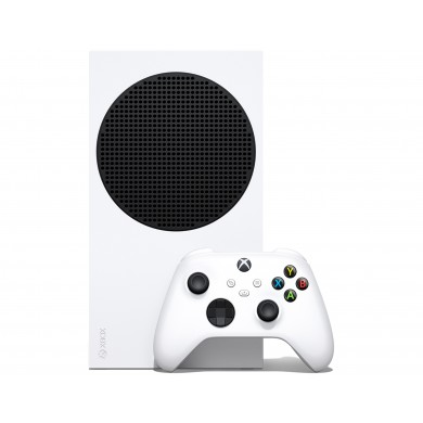 Game Console  Microsoft Xbox Series S White, SSD 512GB, 1 x Gamepad (Xbox One Series S/X Controller)