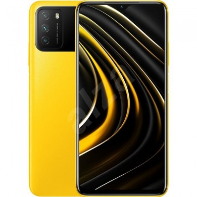 "Xiaomi Poco M3 EU 64GB Yellow, DualSIM, 6.53"" 1080x2340 IPS, Snapdragon 662, Octa-Core 2.0GHz, 4GB RAM, Adreno 610, microSD (dedicated slot), 48MP+2MP+2MP/8MP, LED flash, 6000mAh, WiFi-AC/BT5.0, LTE, Android 10 (MIUI12), Infrared port, USB-C, FC 18W"