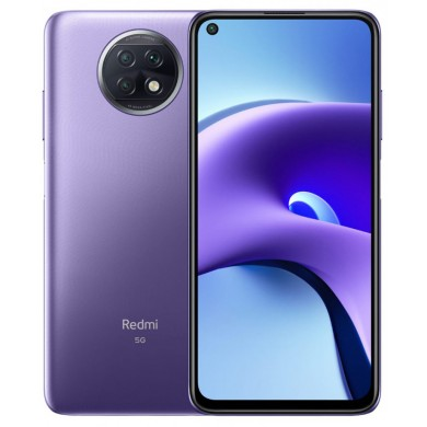 "Xiaomi RedMi Note 9T EU 128GB Purple, 6.53"" 1080x2340 IPS, MediaTek 800U, Octa-Core 2.0GHz, Mali-G57 MC3, 4GB RAM, microSD (dedicated slot), 48MP+2MP+2MP/13MP, LED flash, 5000mAh, WiFi-AC/BT5.0, LTE, NFC, Infrared Port, Android 10, USB-C, FC 18W"