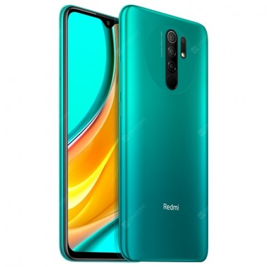 "Xiaomi RedMi 9T EU 64GB Green, 6.53"" 1080x2340 IPS, Snapdragon 662, Octa-Core 2.0GHz, Adreno 610, 4GB RAM, microSD (dedicated slot), 48MP+8MP+2MP+2MP/8MP, LED flash, 6000mAh, WiFi-AC/BT5.0, LTE, NFC, Infrared Port, Android 10, USB-C"