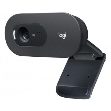 Logitech Business HD Webcam C505e, HD 720p/30fps video calls & recording, 1 omni-directional Mic, USB 2m Black
