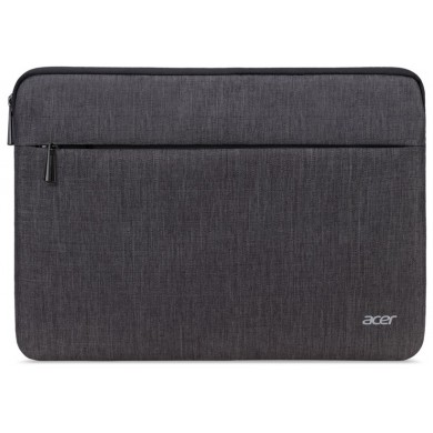 """15.6"""" NB Bag - ACER PROTECTIVE SLEEVE DUAL TONE DARK GRAY WITH FRONT POCKET FOR 15.6"""