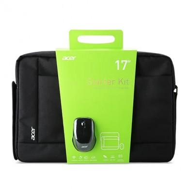 "17.3"" NB Bag - ACER NOTEBOOK STARTER KIT - 17.3"" BELLY BAND bag + wireless mouse 1000 dpi"