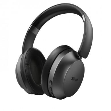 Casti Trust Eaze Bluetooth / Black
