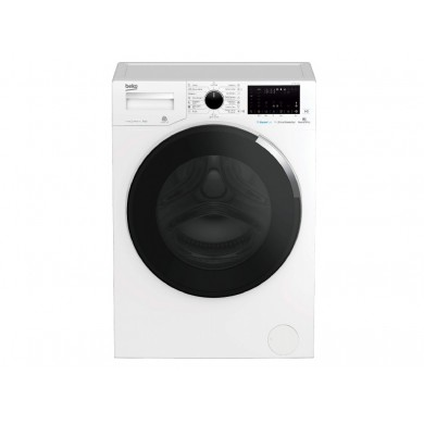Washer Beko WTV7644XCW, White, Max load - 7kg, Max speed - 1200rpm, 84x60x49cm, Depth - 49cm,  RemoteControl/SteamCure/ AddGarment/Inverter, Download Type - front, Class - A+++, Display, 15 programm