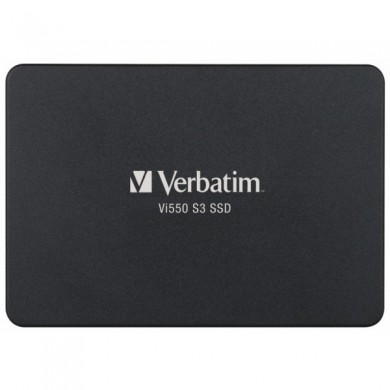 """2.5"""" SSD 1.0TB  Verbatim VI550 S3, SATAIII, Sequential Reads: 560 MB/s, Sequential Writes: 535 MB/s, Maximum Random 4k: Read: 71,262 IOPS / Write: 85,241 IOPS, Thickness- 7mm, Controller Phison PS3111, 3D NAND TLC"""