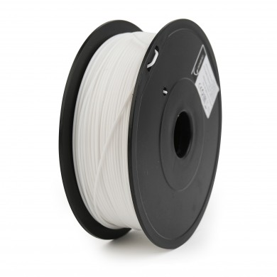 Gembird PLA+ Filament, White, 1.75 mm, 1 kg