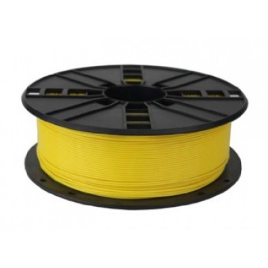 Gembird PLA Filament, Yellow, 1.75 mm, 1 kg
