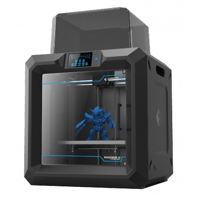 Gembird 3D Printer Flashforge Guider 2S, Fully closed design, Big model size, 3.5-inch touch screen panel, Connectivity: LAN, USB flash-drive, USB cable, Includes easy to use FlashPrint Slicing Software, Filament: ABS/PLA/PVA spool, 1.75mm