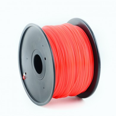 Gembird ABS Filament, Red, 1.75 mm, 0.6 kg