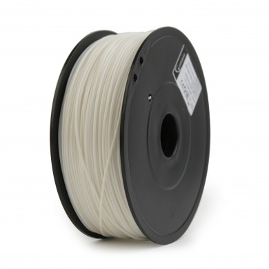 Gembird ABS Filament, White, 1.75 mm, 0.6 kg