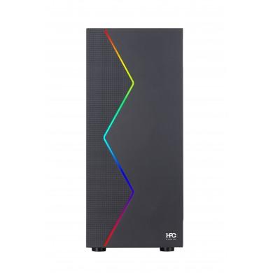 Calculator ATOL PC1072MP - Gaming BLUE#5 / Ryzen 5 / 8GB / 240GB SSD + 1TB / GTX1050Ti / Black