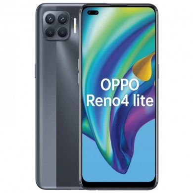 "OPPO Reno 4 lite EU 128GB Black, DualSIM, 6.43"" 1080x2400 AMOLED, Mediatek Helio P95, Octa-Core 2.2GHz, 8GB RAM, microSD (dedicated slot), 48MP+8MP+2MP+2MP/16MP, LED flash, 4015mAh, FC30W, USB-C, WiFi-AC/BT5.1,  Android 10 (ColorOS 7.2)"