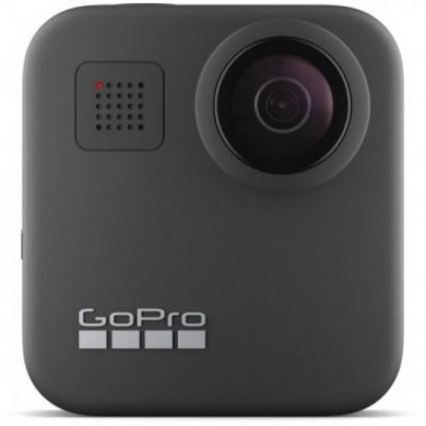 Action Camera GoPro MAX 360 footage, Photo-Video Resolutions:16.6MP/30FPS-5.6K30, 2xslow-motion, waterproof 5m,6x microphones Spherical audio, Max hyper smooth video, Live streaming,Time Lapse,PowerPano,GPS,Wi-Fi,Bluetooth,microSD,USB-C,1600mAh,154g