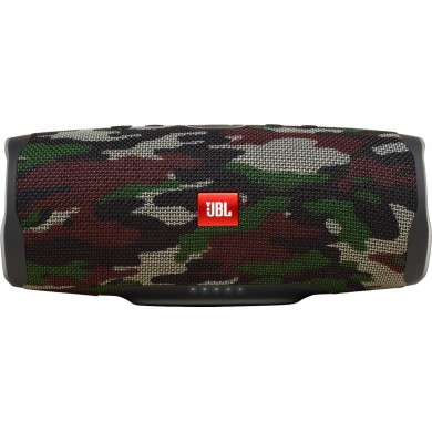 JBL Charge 4 Camouflage / Bluetooth Portable Speaker, 30W (2x15W) RMS, BT Type 4.2, Frequency response: 60Hz-20kHz, IPX7, Speakerphone, 7800mAh power bank USB 5V / 2A, JBL Connect+,  JBL Bass Radiator, Power Supply: 5V / 2.3A, Battery (up to) 20 hr