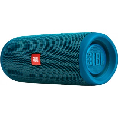 JBL Flip 5 Blue / Bluetooth Portable Speaker, 20W RMS, BT Type 4.2, Frequency response: 70Hz – 20kHz, IPX7 Waterproof, Speakerphone, 4800mAh rechargeable Li-ion battery, JBL Connect, JBL PartyBoost,  Power Supply: 5V / 1A, Battery life (up to) 12 hr