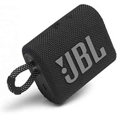 JBL Go 3 Black / Bluetooth Portable Speaker, 4.2W (1x4.2W) RMS, BT Type 5.1, IP67 Waterproof, USB Type-C