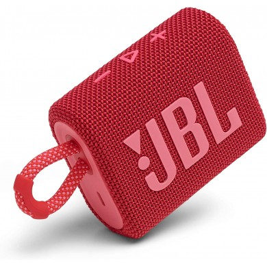 JBL Go 3 Red / Bluetooth Portable Speaker, 4.2W (1x4.2W) RMS, BT Type 5.1, IP67 Waterproof, USB Type-C