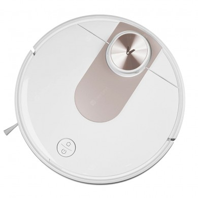 """XIAOMI """"Viomi SE"""" EU, White/Gold, Robot Vacuum, Suction 2200pa, Sweep, Mop, Remote Control, Self Charging, Dust Box Capacity: 0.5L, Working Time: 120m, Maximum area about 200 m2, Barrier height 2cm"""