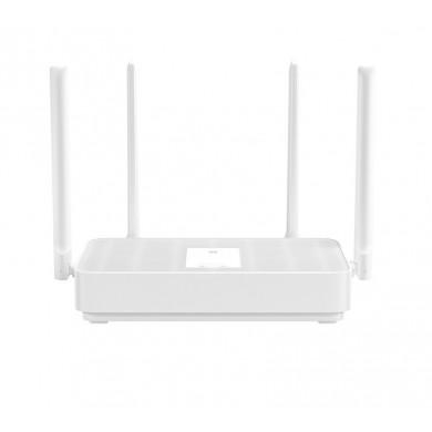 XIAOMI  Mi Router AX1800   Wi-Fi 6 Wireless Gigabit Router, 1201Mbps at 5Ghz + 574Mbps at 2.4Ghz, 802.11ac/a/b/g/n, 1 Gigabit WAN + 3 Gigabit LAN, 4 external antennas