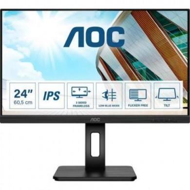 "23.8"" Monitor AOC Q24P2Q / 4ms / Black"