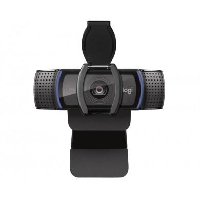 Logitech Business HD C920e Webcam, Full HD 1080p video calls, Microphone stereo, dual omni-directional, H.264 video standard, Diagonal field of view (dFoV): 78°,  Autofocus, USB 2.0