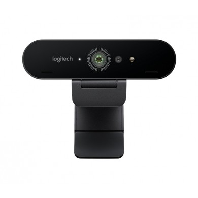 Logitech BRIO Stream 4K Ultra HD, Premium 4K Ultra HD 2160p/30fps with HDR, Diagonal Field of View 65°/78°/90°, Zoom Up to 5x, Autofocus, RightLight 3, 2 omni-directional mics, USB-A plug-and-Play supports USB-C, 2.2 m, black