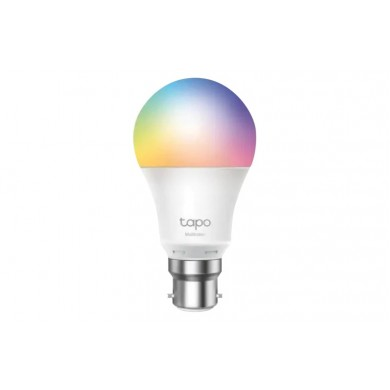 TP-LINK Tapo L530E, Smart Wi-Fi RGB LED Bulb E27 with Dimmable Light, RGB, Color Temperature 2500K-6500K, Rated power 8.7W, 806 lumens, 15,000 hours, Beam angle 220°, Remote control via Wifi, Adjust brightness, Яндекс Алиса, Google Assistent