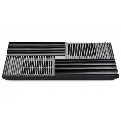 """DEEPCOOL """"MULTI CORE X8"""", Notebook Cooling Pad up to 17"""", 4 fans 100X100X15mm,  Multi-Core Control Technology, 1300±10%RPM, <23dBA, 53.4CFM, Black"""