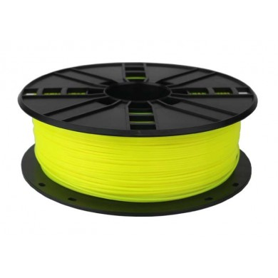 Gembird PLA+ Filament,  Yellow, 1.75 mm, 1 kg