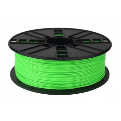 Gembird PLA Filament, Fluorescent Green, 1.75 mm, 1 kg