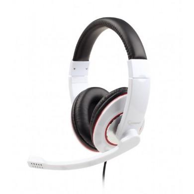 Casti Gembird MHS-001-GW, White