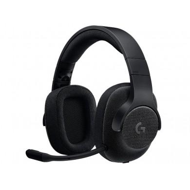 Casti Logitech Gaming G433, Black
