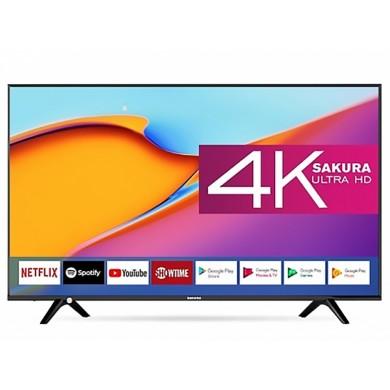 """55"""" LED TV SAKURA 55SU20 / 4K / SmartTV / Black"""