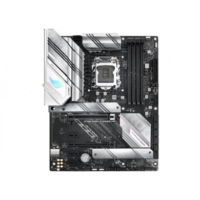 ASUS  ROG STRIX B560-A GAMING WIFI, Socket 1200, Intel® B560 (11/10th Gen CPU), Dual 4xDDR4-5000, HDMI, DP, CPU iGPU, 2xPCIe X16 4.0, 6xSATA3, 3xPCIex1, RAID, 2xM.2 4.0, S1220A HDA, 2.5GbE LAN, WiFi6,2xUSB3.2Gen2 TypeC+A, 5xUSB3.2, Aura Sync RGB, ATX