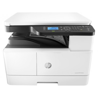 MFD HP LaserJet M442nda, White, A3, up to 24ppm, 1200*1200 dpi, Duplex, 512MB, 600dpi, 4-Line LCD display, up to 50000 p/m, input 350 p,USB 2.0, 10/100 BaseTX , HP PCL 6, Toner W1335A/X (7,400/13,700 pages), Drum CF257A  (80,000 pag)