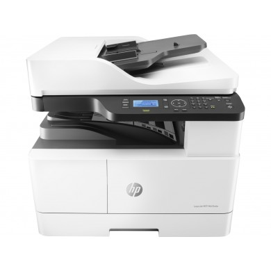 MFD HP LaserJet M443nda, White, A3, up to 25ppm,RADF 100p, 1200*1200 dpi, Duplex, 512MB, 600dpi, 4-Line LCD display, up to 50000 p/m, input 350 p,USB 2.0, 10/100 Base TX , HP PCL 6, Toner W1335A/X (7,400/13,700 pages), Drum CF257A  (80,000 pag)