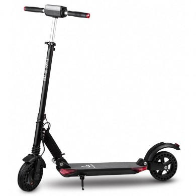 """KUGOO S3 PRO, Folding Electronic Scooter, Black, Max speed 30km/h, Power 350W, Battery capacity: 25km in a single charge, Weight 12kg, Wheel 8"""", Maximum load: 100kg, Headlight Front/Rear LED"""