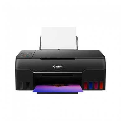 MFD CISS Canon Pixma G640, Color PhotoMFD/Wi-Fi, A4, Print 4800x1200dpi_2pl,Scan 600*1200, 3,9 ipm  LCD display, USB, Wi-Fi: IEEE802.11 b/g/n/a, Tray 100 sheet 64–105 g/m2 or Canon paper, 6 ink tanks; Ink GI-43BK/C/M/YR/GY( A4 8000p color /3700 b/w).