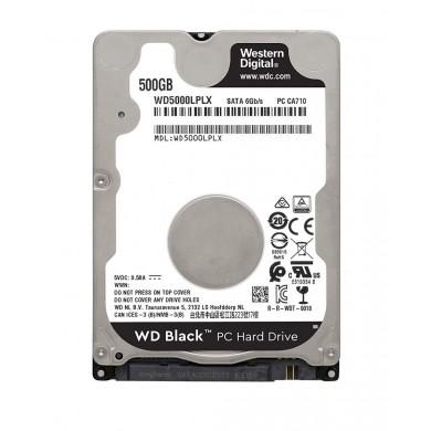 """2.5"""" HDD 500GB  Western Digital WD5000LPLX, Black™, 7200rpm, 32MB, 7mm, SATAIII, NP"""