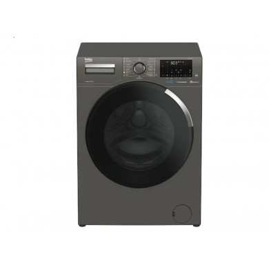 Washer Beko WUE8736XCM, Grey, Max load - 8kg, Max speed - 1400rpm, 84x60x55cm, Depth - 55cm, Steam, Download Type - front, Class - A+++